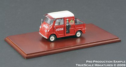 Corvette Stingray Replica on Coca Cola Goggomobil Transporter Pickup      Tsm09434