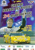 Le Mans 2004 Drivers Parade - Poster - #LM04DPs