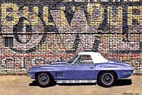 Old Reliable, 1967 Corvette Convertible, Item #DF25014