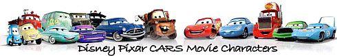 Disney Pixar Cars Diecast Movie Character Toys